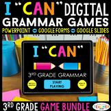 """3rd Grade DIGITAL """"I Can"""" Grammar Games   Google Classroom"""