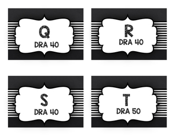 3rd Grade DRA Leveled Readers Label