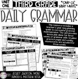 3rd Grade Daily Grammar Unit 1