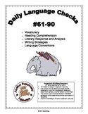 3rd Grade Daily Language Checks #61-90