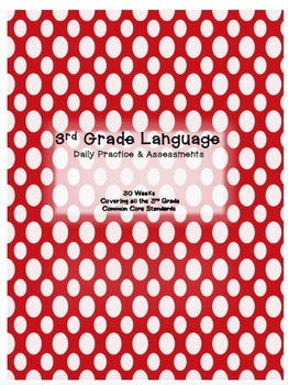 3rd Grade Daily Language Practice and Assessment