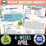 3rd Grade Daily Language Review for April New ELA TEKS