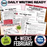 3rd Grade Daily Language Review for February New ELA TEKS