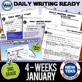 3rd Grade Daily Language Review for January New ELA TEKS
