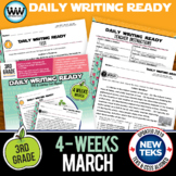 3rd Grade Daily Language Review for March New ELA TEKS