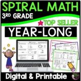 3rd Grade Math Spiral Review for Morning Work or Homework