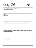 3rd Grade Daily Math Packet - Set 1- CCSS Aligned