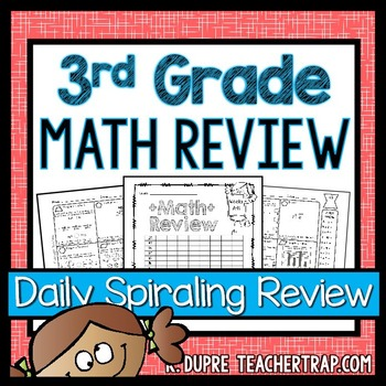 3rd Grade Daily Math Review