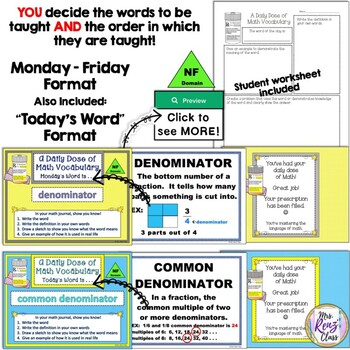 Fractions Posters Plus PowerPoint Slideshow  3rd Grade Math