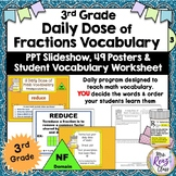 Math Word Wall (3rd Grade) NUMBER & OPERATIONS in BASE TEN with PPT