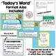 OPERATIONS ALGEBRAIC THINKING Math Word Wall Plus PPT Slideshow (3rd Grade)