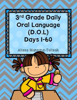 3rd Grade Daily Oral Language (D.O.L)- Book 1