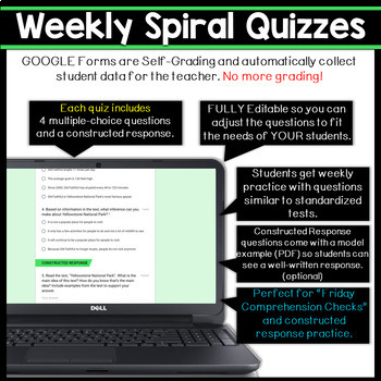 3rd Grade DIGITAL Reading Comprehension Practice & Quizzes | Google