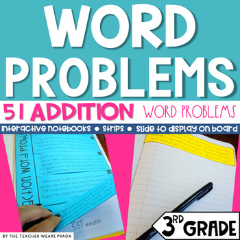 3rd Grade Common Core Daily Word Problems: Addition