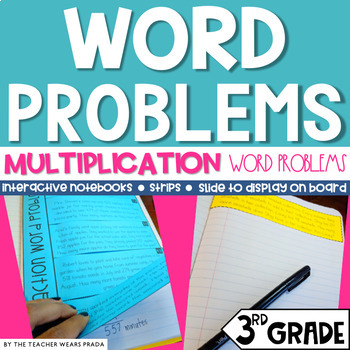 3rd Grade Daily Word Problems: Multiplication