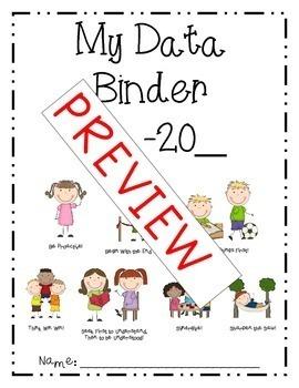 3rd Grade Data Binder and Data Day