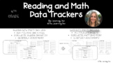 3rd Grade Data Tracking Sheets- Reading and Math