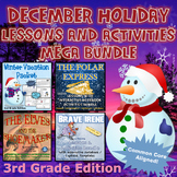 3rd Grade December Holiday Lessons and Activities Mega Bundle