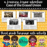 3rd Grade September Reading Adventure- The Case of the Era