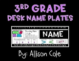 3rd Grade Desk Name Plates