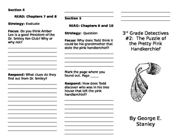 3rd Grade Detectives #2: The Puzzle of the Pretty Pink Handkerchief