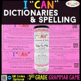 3rd Grade Grammar Game | Spelling & Using Dictionaries