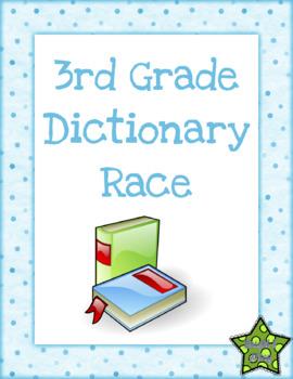 3rd Grade Dictionary Race