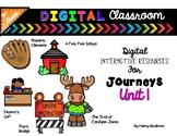 3rd Grade Digital Classroom: UNIT 1 Bundle- for Journeys