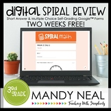 3rd Grade Digital Daily Math Spiral Review | Distance Lear