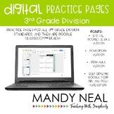 3rd Grade Digital Division Practice   3rd Grade Worksheets