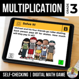 3rd Grade Digital Math Game | Multiplication within 100 |