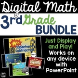 3rd Grade Digital Math Games Bundle
