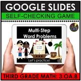 3rd Grade Digital Math Games   Multi-Step Word Problems