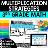 Multiplication Strategies   3rd Grade Math   Math Task Cards