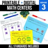 3rd Grade Digital Math Centers Bundle | Google Classroom™