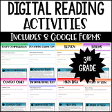 3rd Grade Digital Reading Activities - Reading Google Form