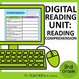 3rd Grade Digital Reading Comprehension for Google Slides™