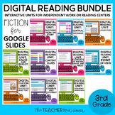 Digital Reading Fiction Bundle for Google Slides™ Distance