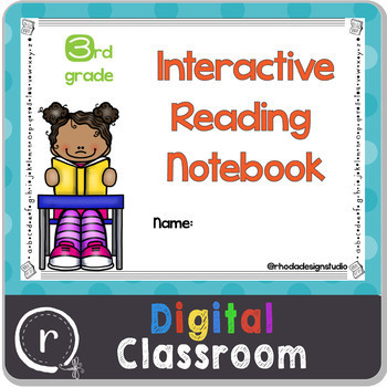 Third Grade Digital Reading Notebook Google Classroom No Prep Paperless