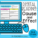 3rd Grade Digital Reading Unit: Cause and Effect for Googl
