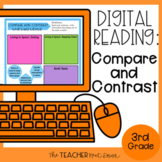 3rd Grade Digital Reading Unit: Compare and Contrast for G