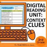 3rd Grade Digital Reading Unit: Context Clues for Google S
