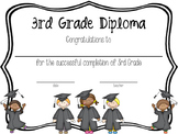 3rd Grade Diplomas