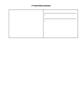 3rd Grade Division Assessment