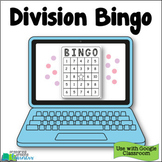 3rd Grade Division Bingo  - Distance Learning for Google C