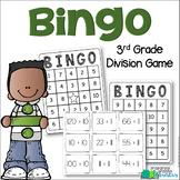 3rd Grade Division Bingo {3.OA.7 Math Center/Station/Game}