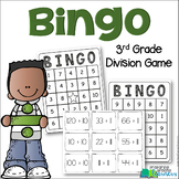 3rd Grade Division Bingo {3.OA.7 Math Center/Station/Game}