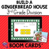 3rd Grade Division Build A Gingerbread House BOOM Cards Re