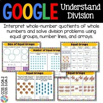 3rd Grade Division: Equal Groups, Arrays {3.OA.2, 3.OA.3} Google Classroom