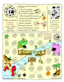 """3rd Grade Division Game """"The Monster/The Unicorn"""" Adventure Map!"""